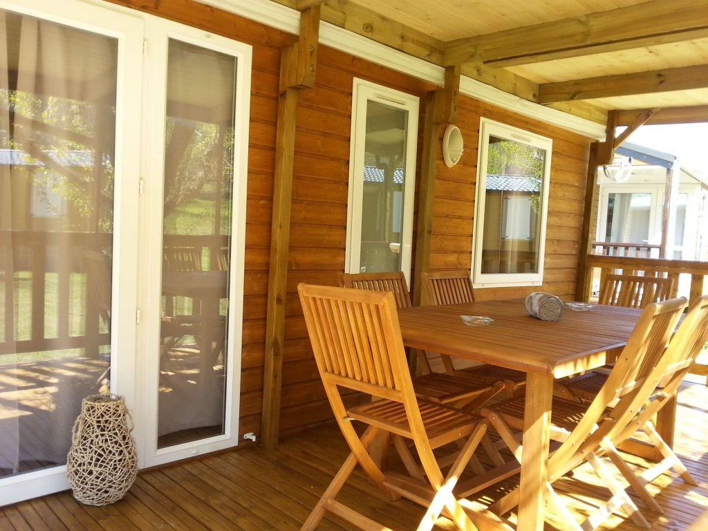 bungalow fusta Camping serra