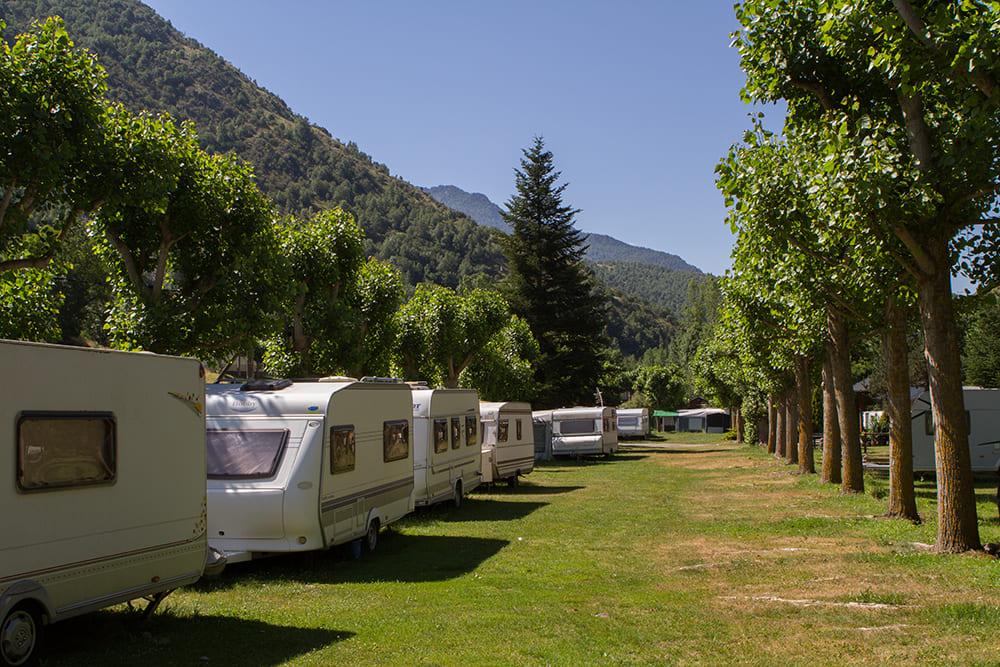 Camping Serra caravanes