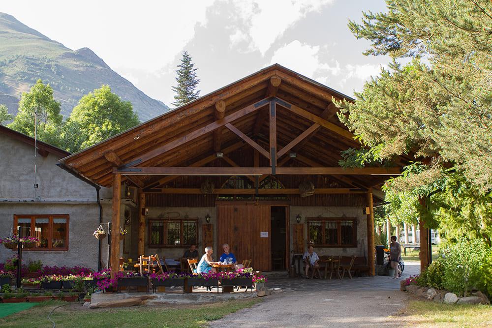 Camping Serra Zona de bar