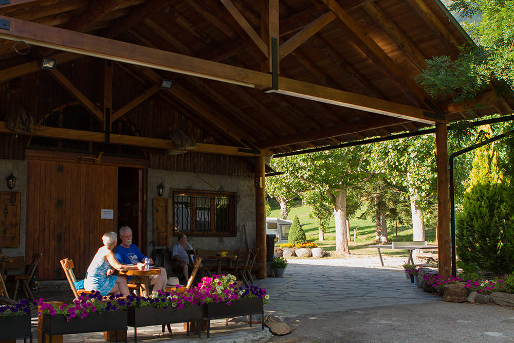 Camping Serra zona bar