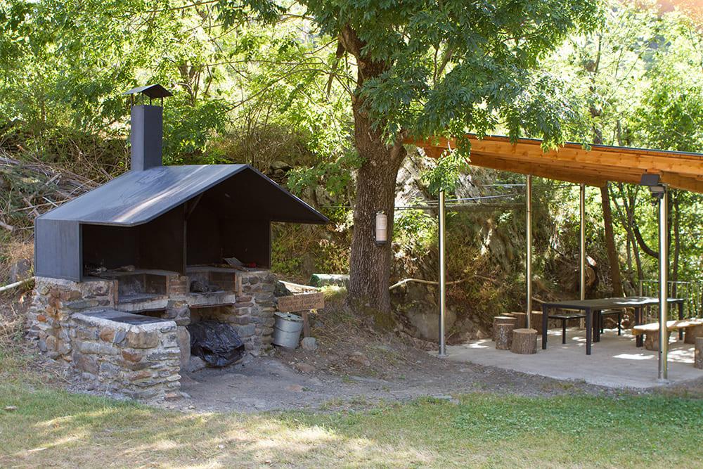 Barbacoa Camping Serra