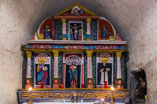 Retaules ermita Santa Eulalia. Foto: @sobreelterreny